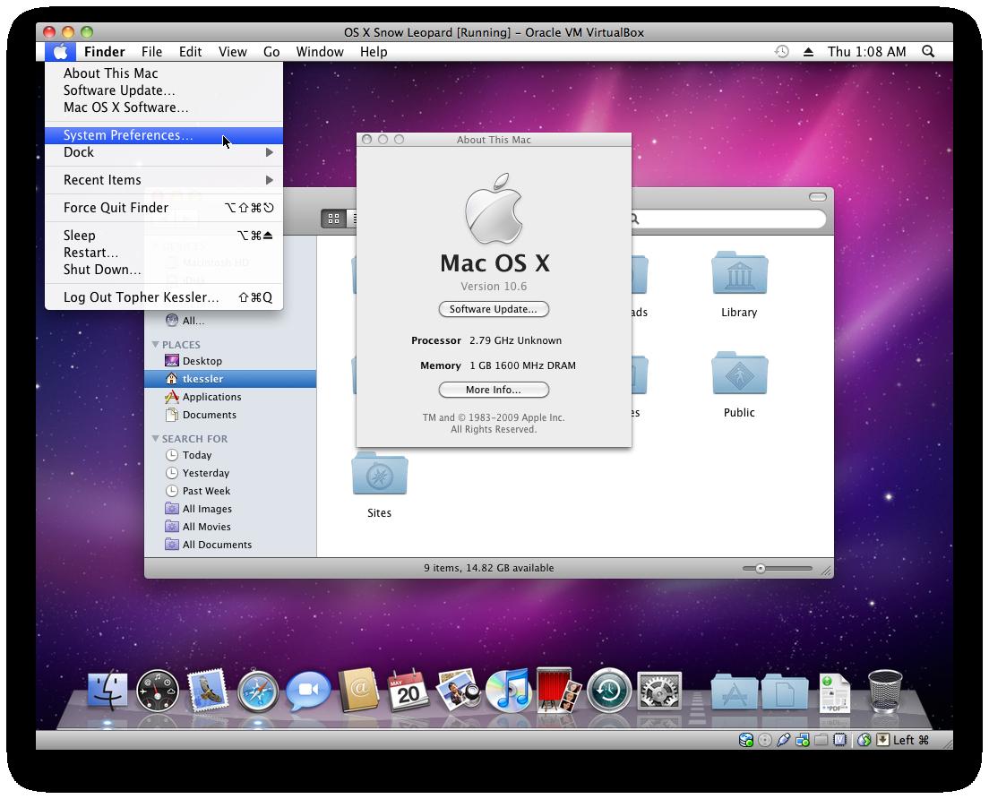 virtualbox 5 mac os x