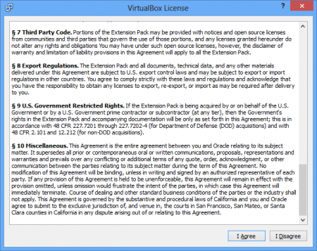 Updating VirtualBox